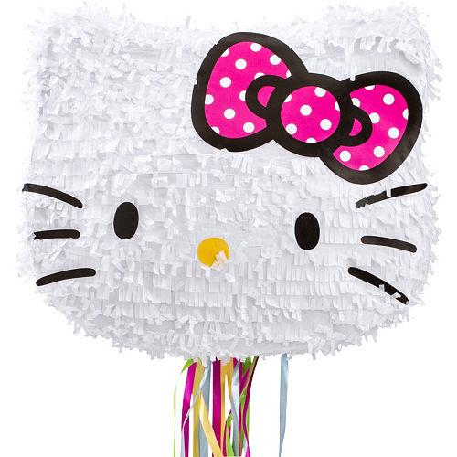 Pull String Hello Kitty Pinata Kit Image #2