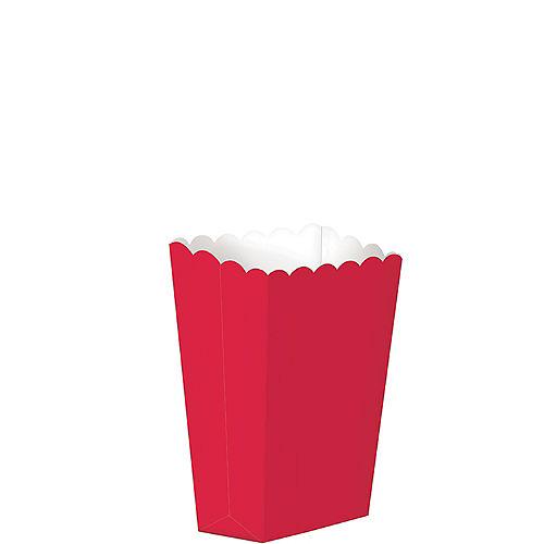 Mini Red Popcorn Treat Boxes 5ct Image #1