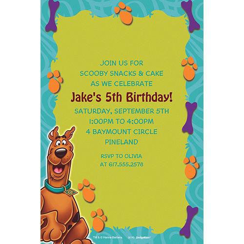 Custom Scooby-Doo Where Are You! Invitations Image #1