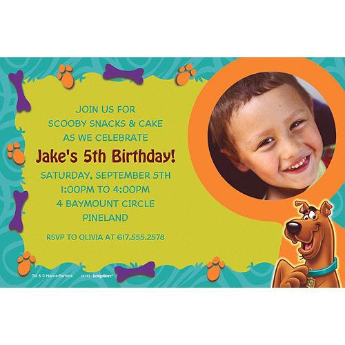 Custom Scooby-Doo Where Are You! Photo Invitations Image #1