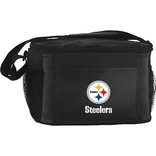 Pittsburgh Steelers 6-Pack Cooler Bag Image #1
