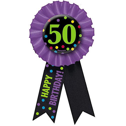 50th Birthday Award Ribbon Image #1
