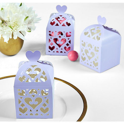 Lilac Lantern Favor Boxes Image #1