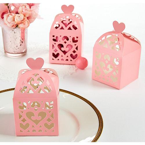 Pink Lantern Favor Boxes Image #1