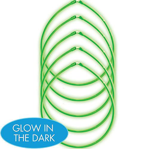 Green Glow Sticks 5ct Image #1