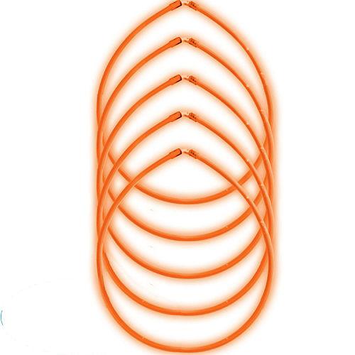 Orange Glow Sticks 5ct Image #1