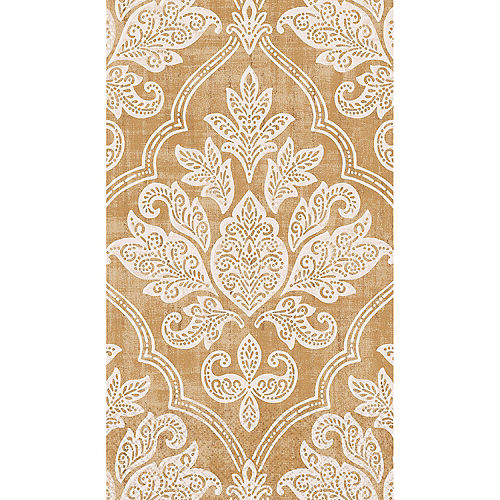Gold Damask Guest Towels 16ct Image #1
