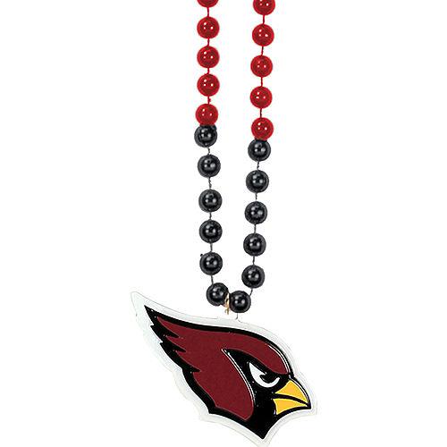 Arizona Cardinals Pendant Bead Necklace Image #1