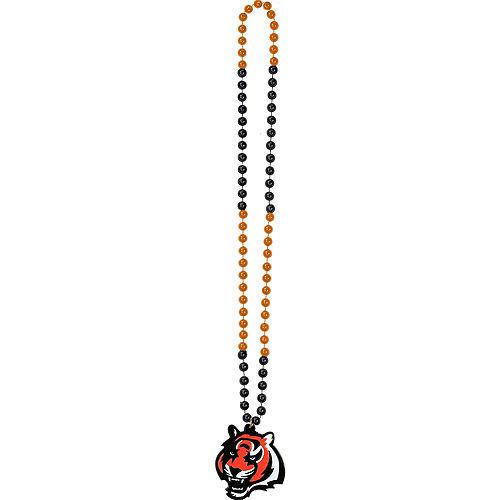 Cincinnati Bengals Pendant Bead Necklace Image #2