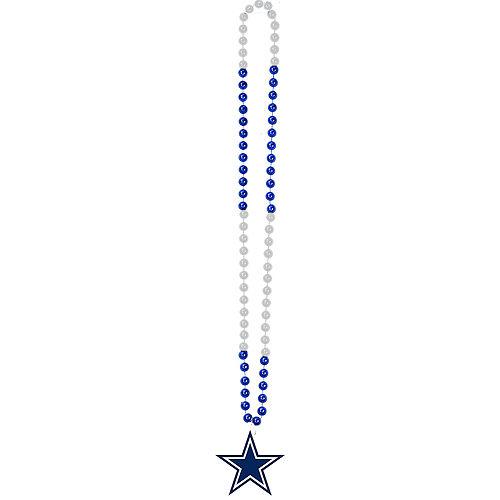 Dallas Cowboys Pendant Bead Necklace Image #2