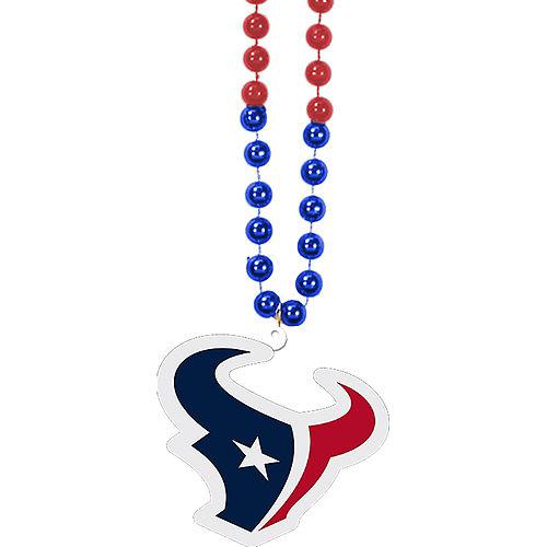 Houston Texans Pendant Bead Necklace Image #1