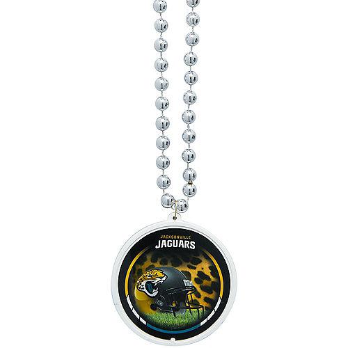 Jacksonville Jaguars Pendant Bead Necklace Image #1