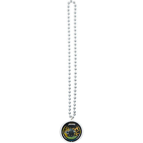 Jacksonville Jaguars Pendant Bead Necklace Image #2