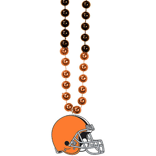 Cleveland Browns Pendant Bead Necklace Image #1
