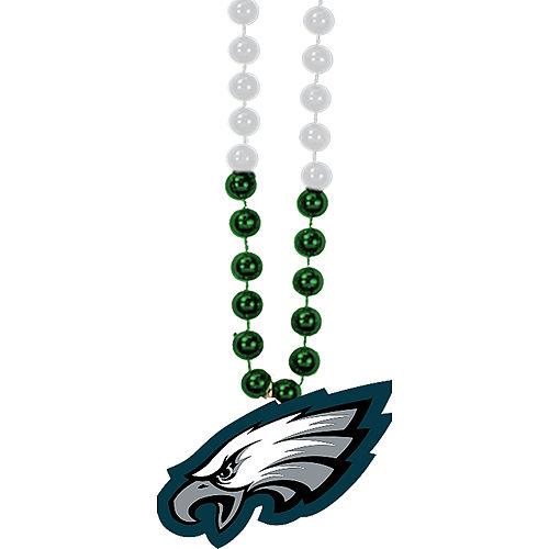 Philadelphia Eagles Pendant Bead Necklace Image #1