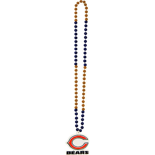 Chicago Bears Pendant Bead Necklace Image #2