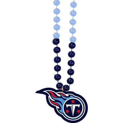 Tennessee Titans Pendant Bead Necklace Image #1