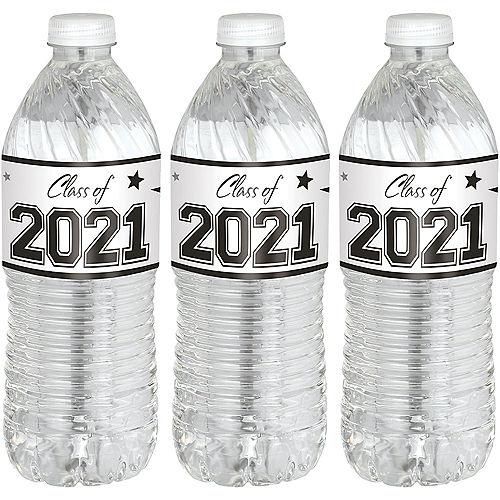 Graduation Bottle Labels, 24ct Image #1