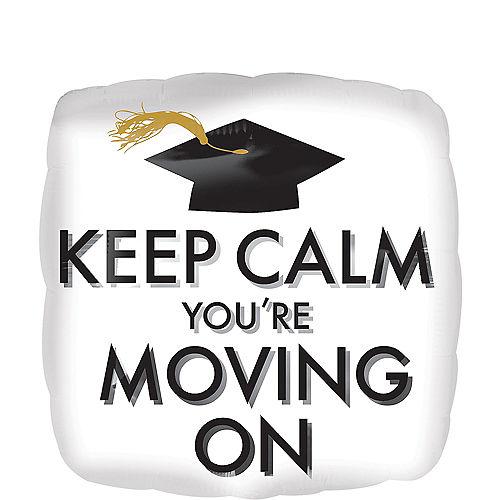 Keep Calm Graduation Balloon Image #1