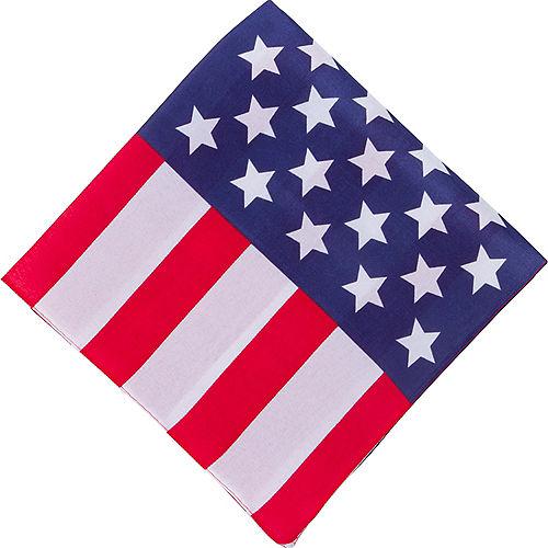 American Flag Bandana Image #1