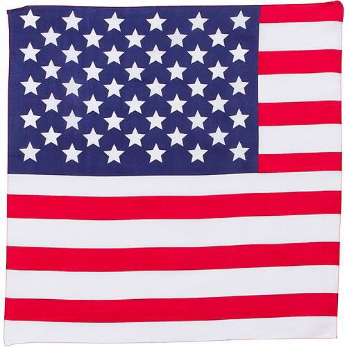 American Flag Bandana Image #2