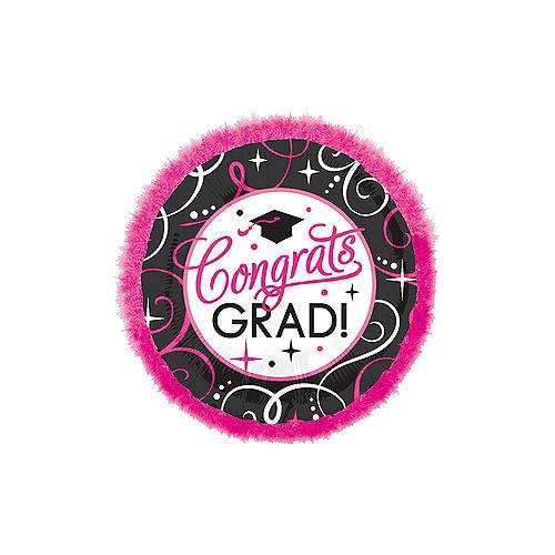 Giant Congrats Grad Graduation Balloon - Boa Image #1