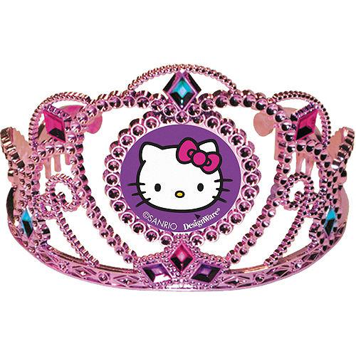 Rainbow Hello Kitty Tiara Image #1
