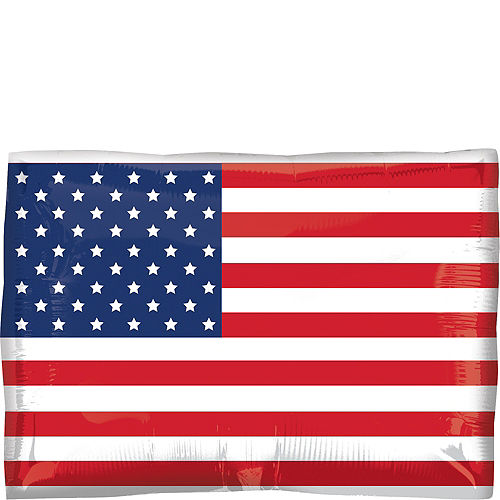 American Flag Balloon, 24in Image #1