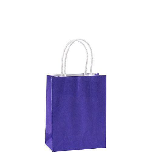 Small Purple Kraft Bags 24ct Image #2