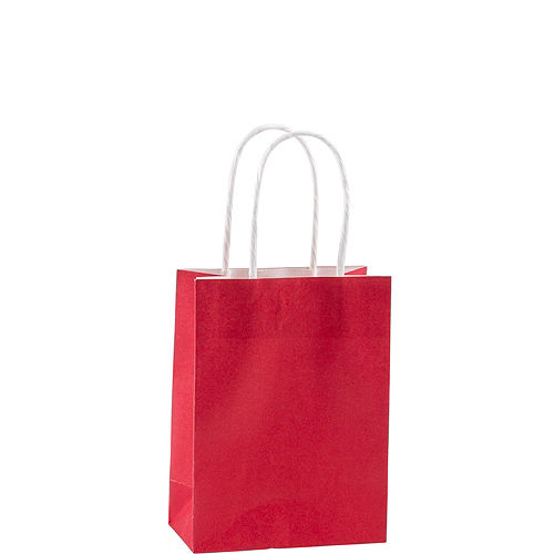 Small Red Kraft Bags 24ct Image #2