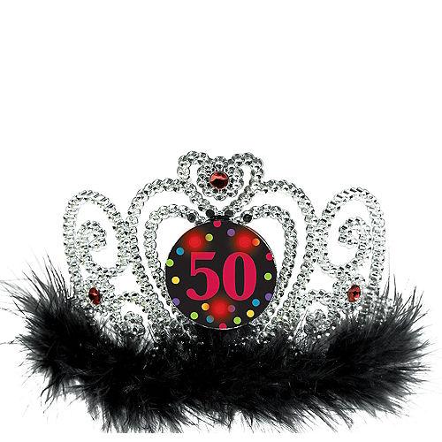 Light-Up 50th Birthday Tiara Image #1