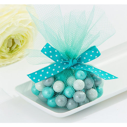 Robin's Egg Blue Tulle Circles 50ct Image #1