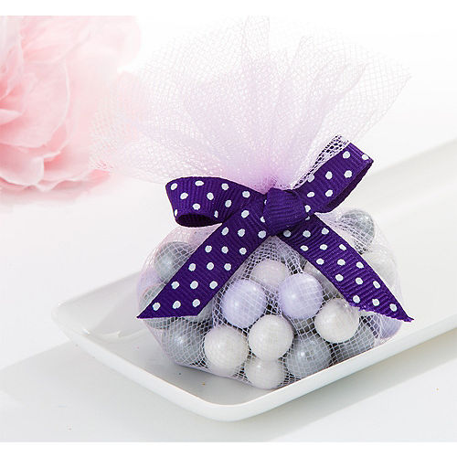 Lilac Tulle Circles 50ct Image #1