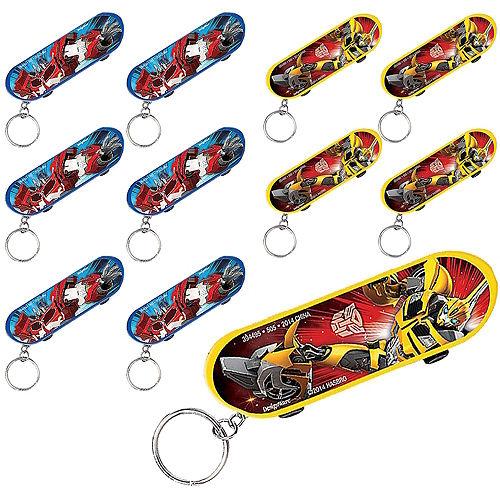 Transformers Skateboard Keychains 48ct Image #1