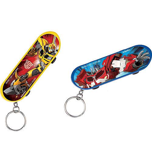 Transformers Skateboard Keychains 48ct Image #2