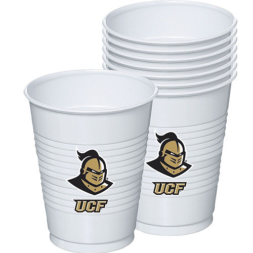 UCF Knights Plastic Cups 8ct Image #1