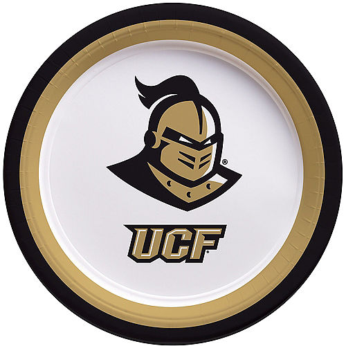 UCF Knights Lunch Plates 10ct Image #1