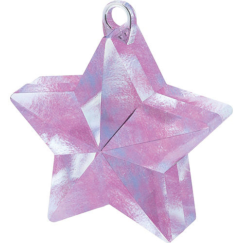 Iridescent Star Balloon Weight Image #1