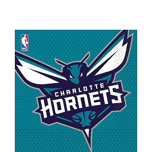 Charlotte Hornets Lunch Napkins 16ct Image #1