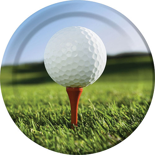Golf Lunch Plates 8ct Image #1