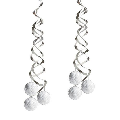 Golf Swirl Decorations 2ct Image #1