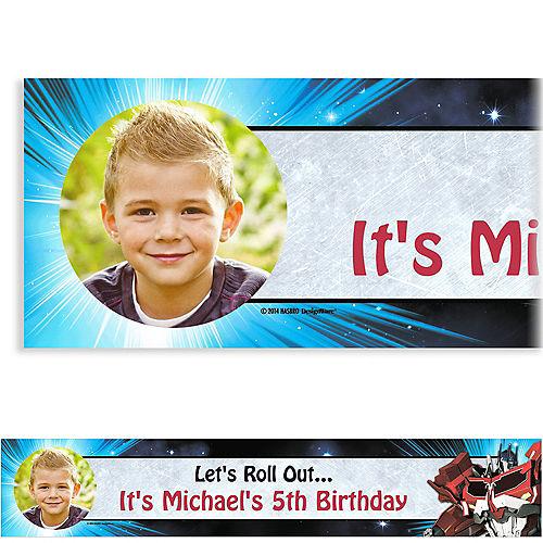 Custom Transformers Photo Banner 6ft Image #1