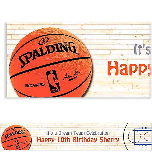Custom NBA Spalding Banner 6ft Image #1