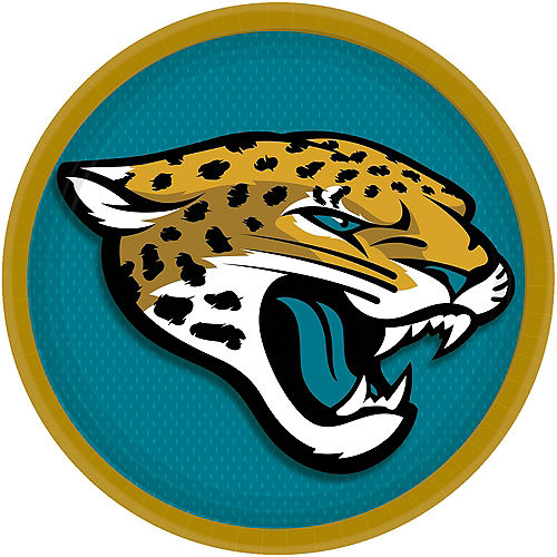 Jacksonville Jaguars Lunch Plates 18ct Image #1
