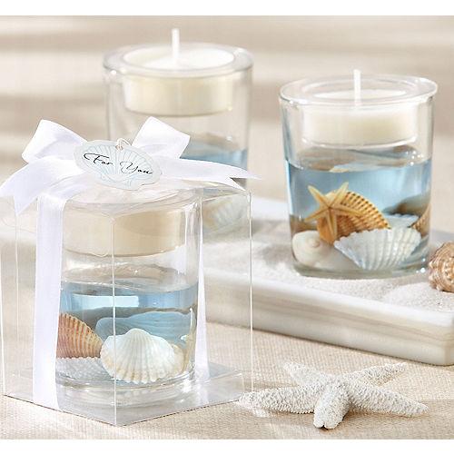 Seashell Tealight Candle Holder Image #1