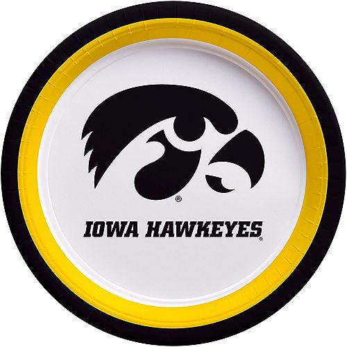 Iowa Hawkeyes Lunch Plates 10ct Image #1