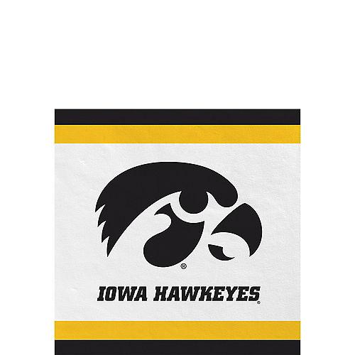 Iowa Hawkeyes Beverage Napkins 24ct Image #1