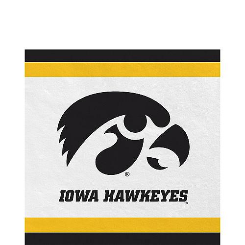 Iowa Hawkeyes Lunch Napkins 20ct Image #1