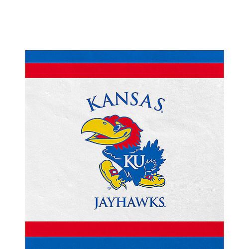 Kansas Jayhawks Lunch Napkins 20ct Image #1