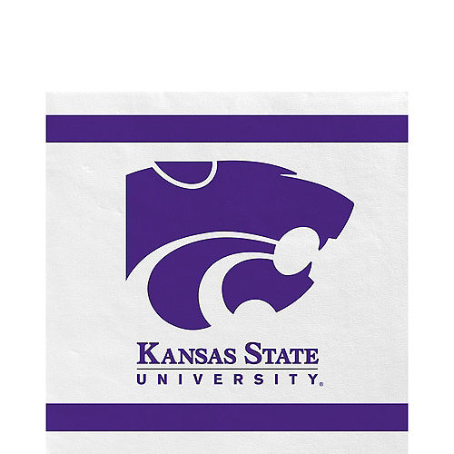 Kansas State Wildcats Lunch Napkins 20ct Image #1